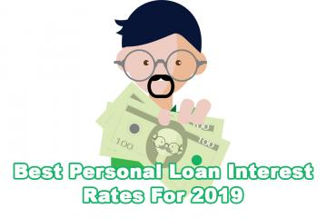 Best Personal Loan Interest Rates For 2019
