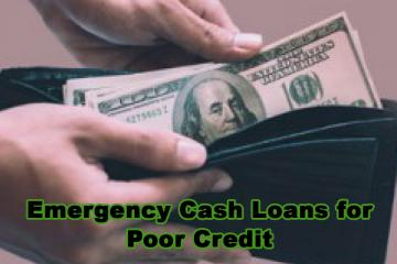 Emergency Cash Loans for Poor Credit