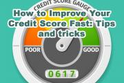 How to Improve Your Credit Score Fast: Tips and tricks