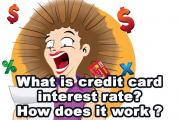 What is a Credit Card Interest Rate? How does it Work?